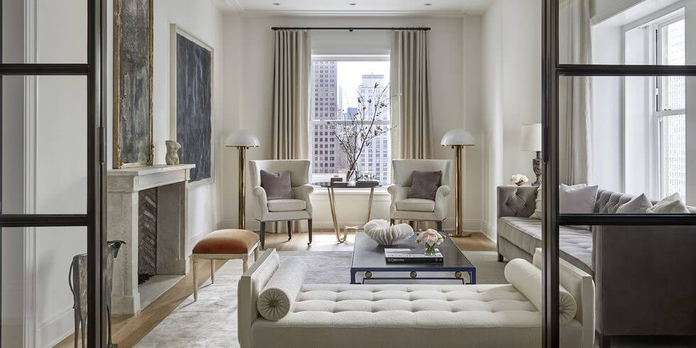 Glam Chicago Living Room