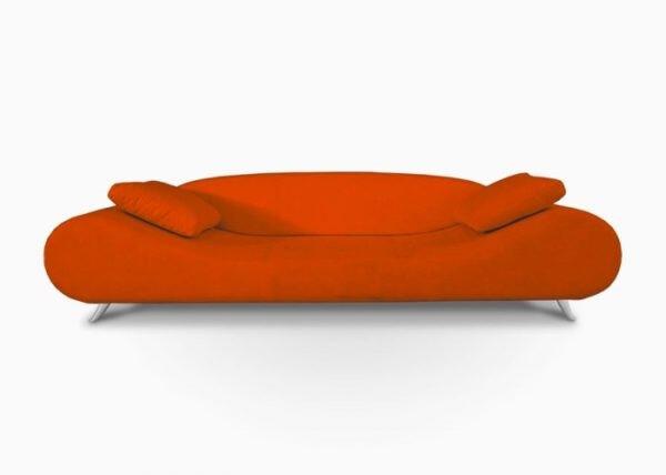 Super-Retro Orange Sofa